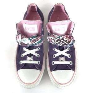 CONVERSE Chuck Taylor Double Tongue Purple Pink